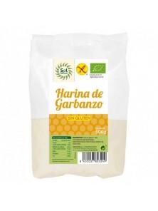 HARINA DE GARBANZO SIN GLUTEN 500GR BIO - SOL NATURAL - 8435037803249