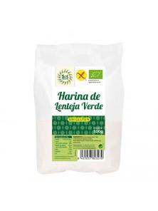 HARINA DE LENTEJA VERDE 500GR BIO - SOL NATURAL - 8435037803270