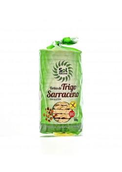 TORTITAS DE TRIGO SARRACENO 100GR BIO - SOL NATURAL - 8435037840848