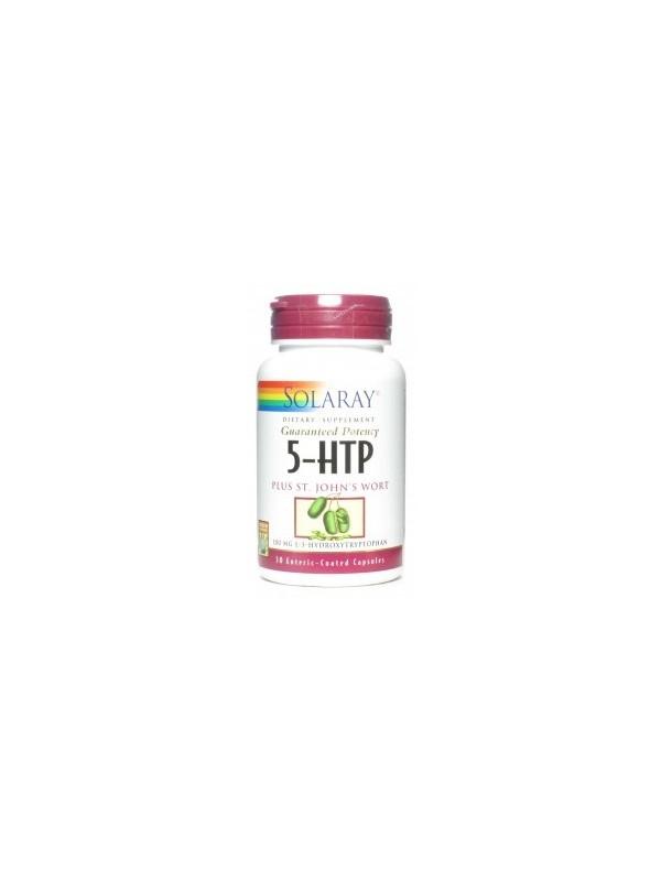5-HTP HIPERICO 30 CAPSULAS - SOLARAY - 076880210785