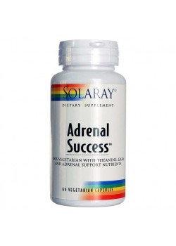 ADRENAL SUCCESS 60 CAPSULAS VEGETALES - SOLARAY - 076280865073
