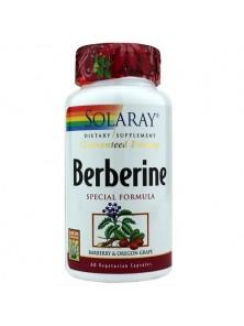 BERBERINE 60 CAPSULAS - SOLARAY - 076280480320