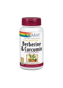 BERBERINE CURCUMA 600MG 60 CAPSULAS - SOLARAY - 076280316247