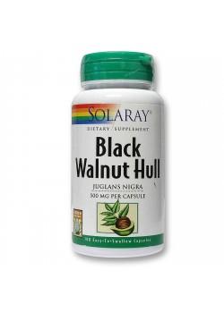 BLACK WALNUT HULL 100 CAPSULAS - SOLARAY - 076280001808