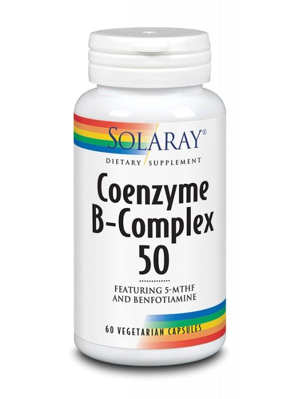 COENZIME B-COMPLEX 50 60 CAPSULAS VEGETALES - SOLARAY - 076280967265