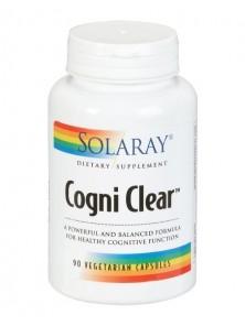 COGNI CLEAR 90 CÁPSULAS VEGETALES - SOLARAY - 076280873320