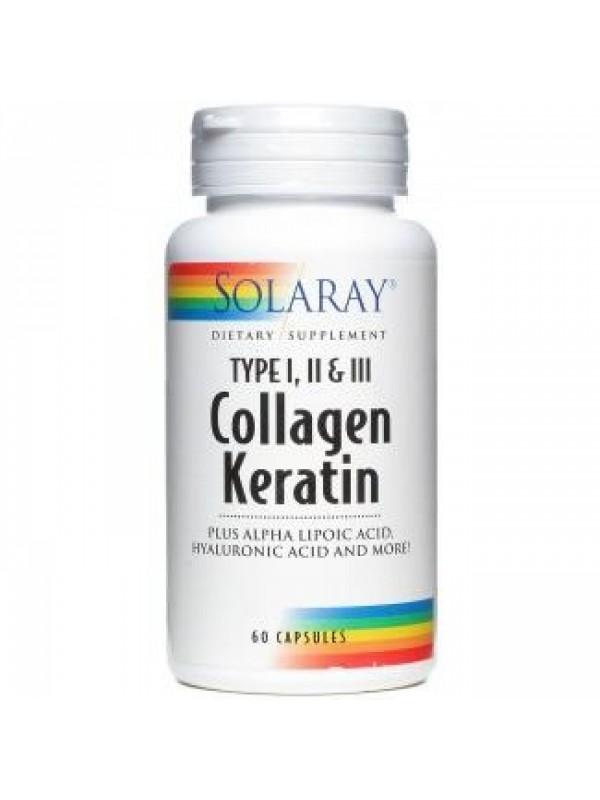 COLLAGEN KERATIN 60 CAPSULAS