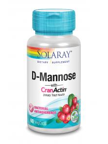 D-MANNOSE/CRANACTIN 60 CAPSULAS - SOLARAY - 076280117776