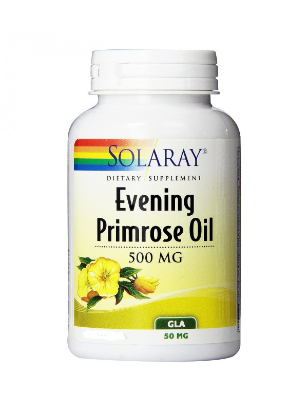 EVENING PRIMROSE OIL 90 PERLAS - SOLARAY - 076280008364