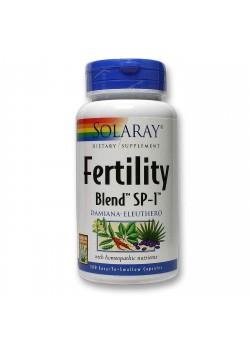FERTILITY BLEND 100 CAPSULAS VEGETALES - SOLARAY - 076280608304