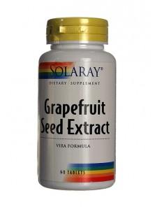 GRAPEFRUIT SEED 60 CÁPSULAS - SOLARAY - 076280085204