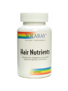 HAIR NUTRIENTS 60 CAPSULAS - SOLARAY - 076280764970