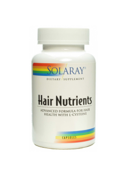 HAIR NUTRIENTS 60 CAPSULAS - SOLARAY - 076280764970