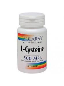 L-CYSTEINE 500MG 30 CAPSULAS - SOLARAY - 076280049107