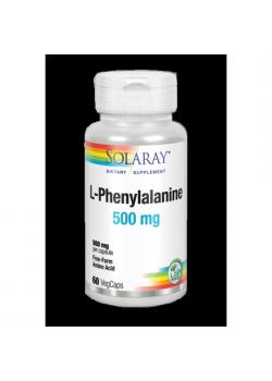 L-PHENYLALANINE 500MG 60 VEGCAPS - SOLARAY - 076280049718