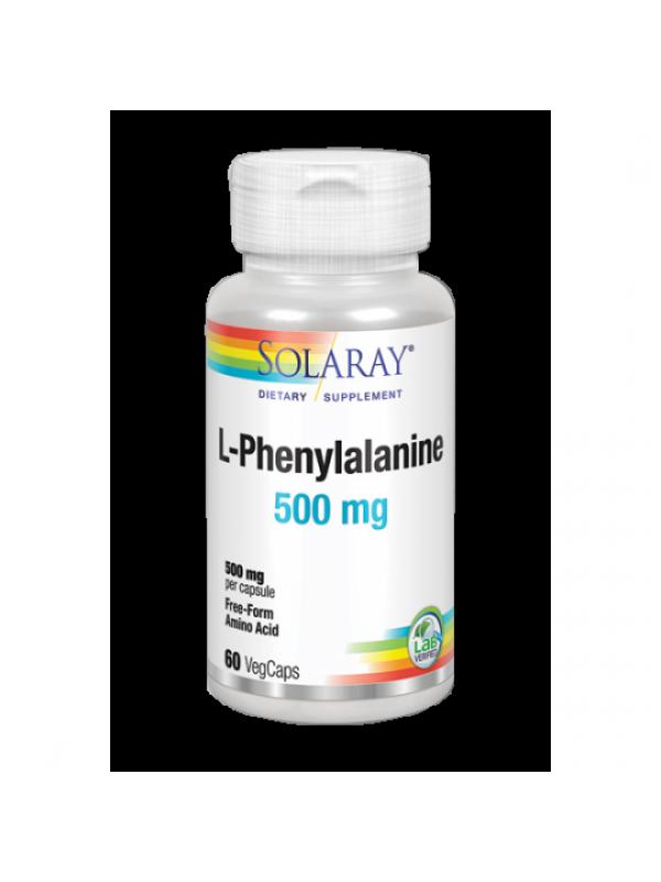 L-PHENYLALANINE 500MG 60 VEGCAPS