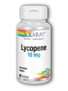 LICOPENO 10MG 60 PERLAS - SOLARAY - 076280041262