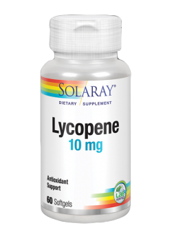 LICOPENO 10MG 60 PERLAS - SOLARAY - 076280041262