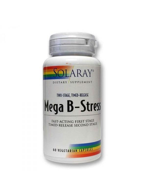 MEGA B-STRESS 60 CAPSULAS - SOLARAY - 076280042405