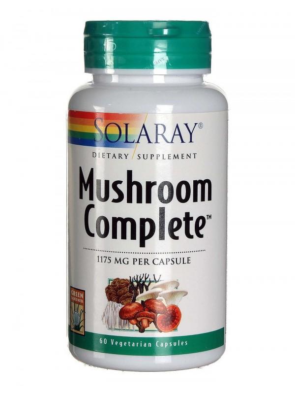 MUSHROOM COMPLETE 60 CÁPSULAS - SOLARAY - 076280886924