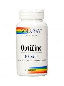 OPTIZINC 60 CÁPSULAS - SOLARAY - 076280047073