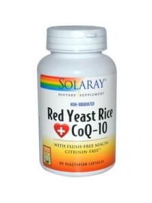 PLUS RED RICE & Q10 60 CAPSULAS - SOLARAY - 076280509236