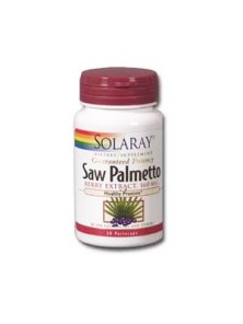 SAW PALMETTO (SABAL) 160MG 60 CAPSULAS - SOLARAY - 076280037821