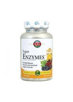 SUPER ENZYMES 60 COMPRIMIDOS - KAL - 021245329442