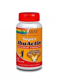 SUPER IBUACTIN 60 CAPSULAS - SOLARAY - 076280805505