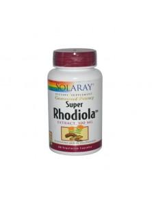 SUPER RHODIOLA 60 CAPSULAS VEGETALES - SOLARAY - 076280111071