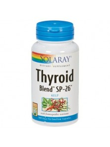 THYROID BLEND 100 CAPSULAS VEGETALES - SOLARAY - 076280554908