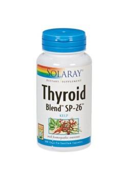 THYROID BLEND 100 CAPSULAS VEGETALES - SOLARAY - 076280554908