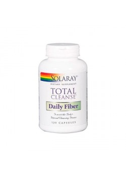 TOTAL CLEANSE DAILY FIBER 120 CÁPSULAS - SOLARAY - 076280175363