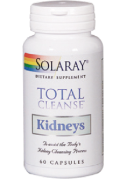 TOTAL CLEANSE KIDNEYS 60 VEGCAPS - SOLARAY - 076280083644