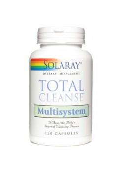 TOTAL CLEANSE MULTISYSTEM 120 CAPSULAS - SOLARAY - 076280083705