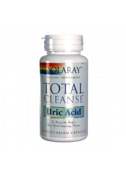 TOTAL CLEANSE URIC ACID 60 CAPSULAS - SOLARAY - 076280350074