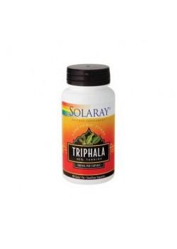 TRIPHALA 500MG 90 CAPSULAS - SOLARAY - 076280399172