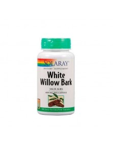 WHITE WILLOW (SAUCE BLANCO) 100 CAPSULAS - SOLARAY - 076280016604