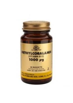 METILCOBALAMINA VITAMINA B12 1000μG 30 CÁPSULAS - SOLGAR - 033984003873