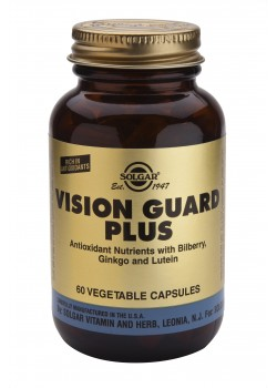 VISION GUARD PLUS 60 CAPSULAS VEGETALES - SOLGAR - 033984003163
