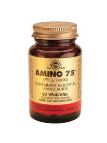 AMINO 75 90 CAPSULAS - SOLGAR - 033984001022