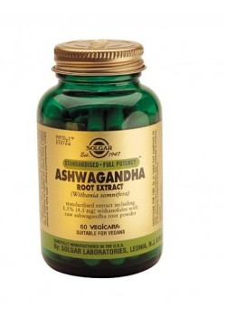 ASHWAGANDHA RAIZ 60 CAPSULAS - SOLGAR - 033984041042
