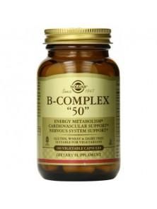 B-COMPLEX 50 100 CAPSULAS - SOLGAR - 033984003835
