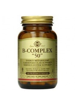 B-COMPLEX 50 100 CAPSULAS - SOLGAR - 033984011212