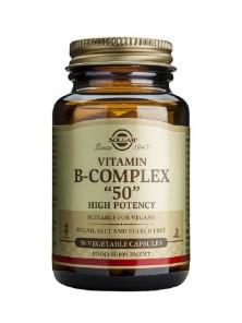 B-COMPLEX B-50 50 VEGICAPS - SOLGAR - 033984003828