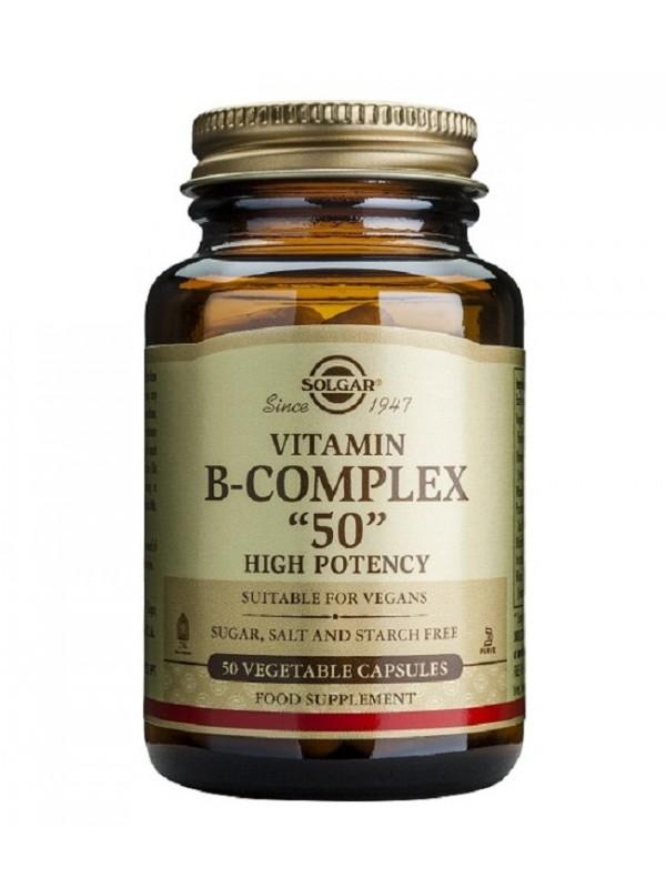 B-COMPLEX B-50 50 VEGICAPS - SOLGAR - 033984011205