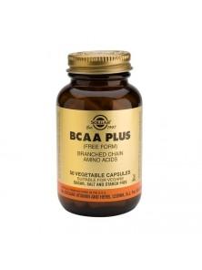BCAA PLUS 50 CAPS VEGETALES - SOLGAR - 033984001954