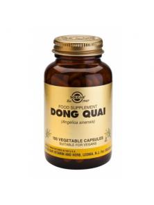 DONG QUAI 100 CAPSULAS VEGETALES - SOLGAR - 033984038622