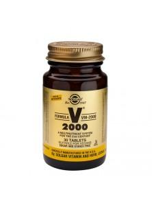 FORMULA VM-2000 60 TABLETAS - SOLGAR - 033984011878