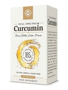 FULL SPECTRUM CURCUMINA 30 CAPSULAS BLANDAS - SOLGAR - 033984595972